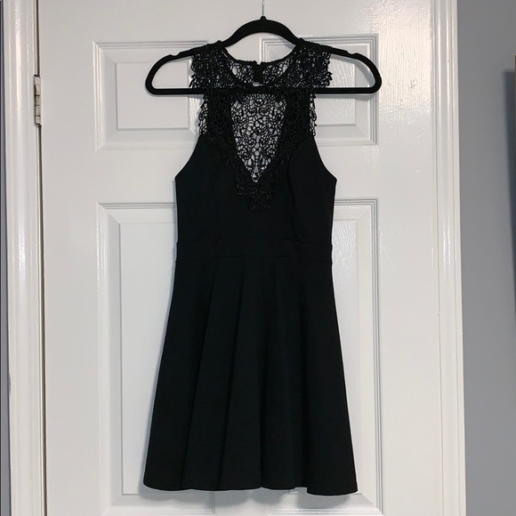 Material Girl Dresses & Skirts - Fit and Flare Black Dress